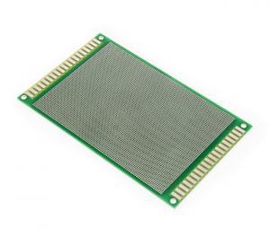 Vývojové obojstranné PCB s 6537 kontakty 15x9cm