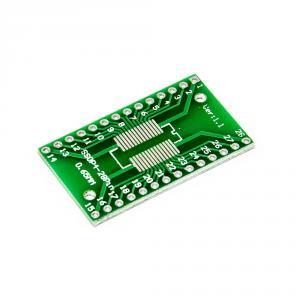 PCB redukcia z SOP4-28 1.27mm, SSOP4-28 0.65mm na DIP 2.54mm
