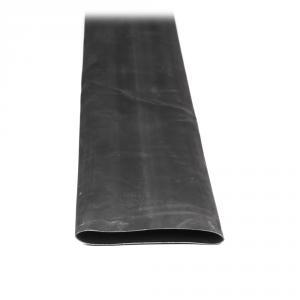 Teplom zmrštiteľná trubica s lepidlom čierna 120cm 90mm