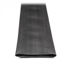 Teplom zmrštiteľná trubica s lepidlom čierna 120cm 100mm