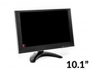 """LCD VA monitor 10.1 """"1920x1080 HDMI BNC VGA AV, kovové vyhotovenie"""