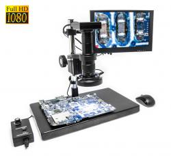 SMART mikroskop ALL-IN-ONE 1080p s monitorom a pokročilým meraním