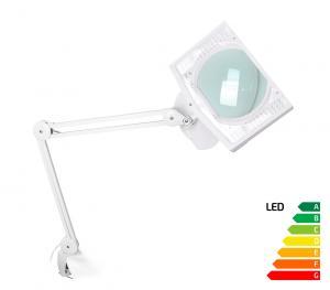 Servisná lampa s veľkoplošnou lupou LED Tera 8D