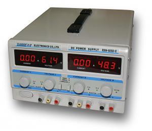 Dvojitý laboratórny zdroj RXN-605D-II - 2x60V/5A, 120V/5A, 60V/10A