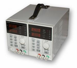 Precízny programovateľný dvojitý zdroj 2x30V / 3A, 60V / 3A, 30V / 6A typ KA3003D-2S
