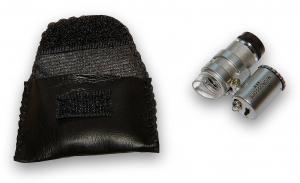 Vreckové kontaktné miniatúrne mikroskopy so zväčšením 45x