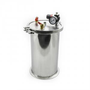 Nerezové nádrže pre priemyselné dávkovače tekutín 5l