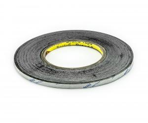 Obojstranná lepiaca páska čierna šírka 2mm