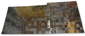 Kompletná sada univerzálnych BGA šablón 8cm, 360ks