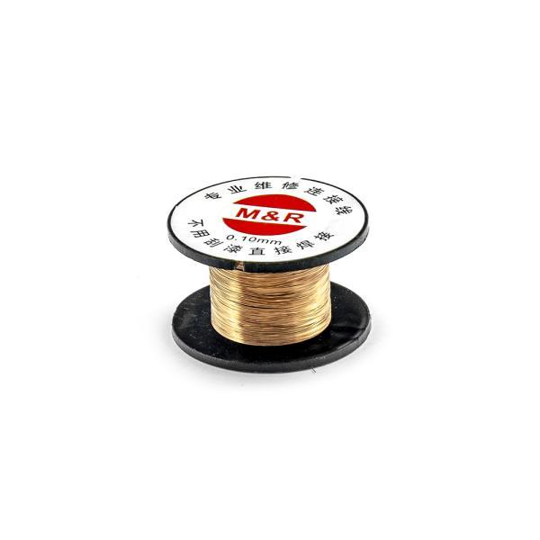 Smaltovaný medený drôt priemer 0,1mm