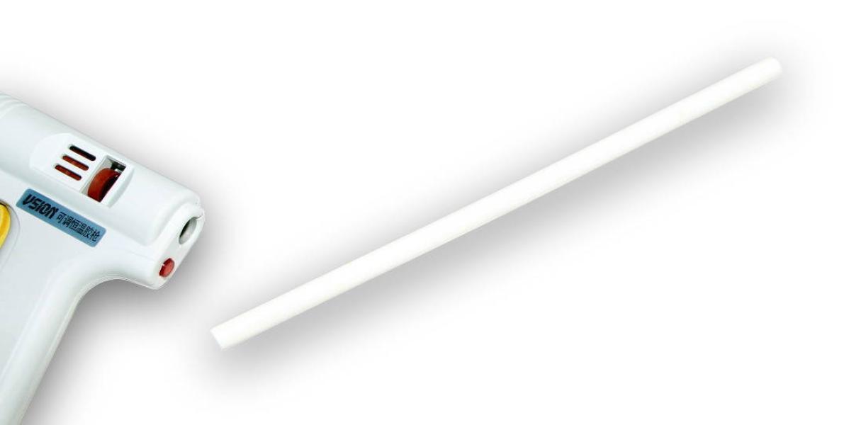 Tyčinka do tavnej pištole biela priemer 11mm 1ks