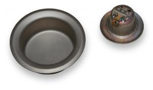 Náhradné kruhové titánové vane pre cínové vaničky rady BD vaňa pre BD-36mm