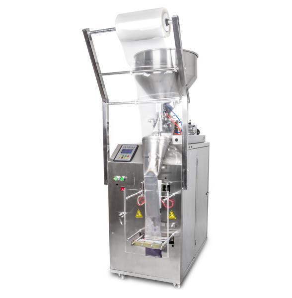 Baliaci stroj a dávkovač tekutín do obalov flow pack 15ml až 360ml