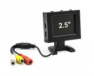"Prenosný LCD monitor 2,5 ""12V 480x228px Cinch"