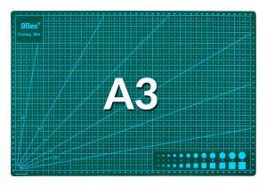 Rezacia pracovná podložka obojstranná zelená A3 45x30cm
