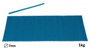 Náplne tavné modré do lepiacej pištole priemer 7mm 1kg