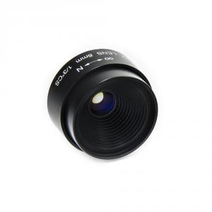 CCTV objektív CS-Mount ohnisko 8mm, svetelnosť F1.2