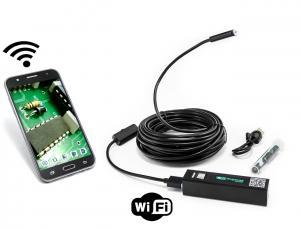 WiFi endoskop pre Android a iOS, krytie IP66, tvarovateľný kábel 10m