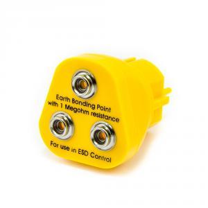 ESD zástrčka do EÚ zásuvky 230V, 3x ESD patentka 10mm
