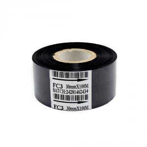 Čierna termotransferová páska, dĺžka 100m, šírka 30mm, IN