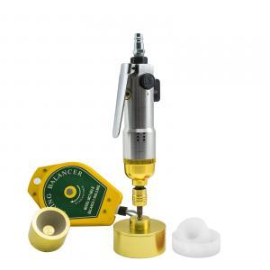 Pneumatický zatvárač (uťahovák) skrutkovacích viečok a uzáverov + adaptery 5 – 50mm