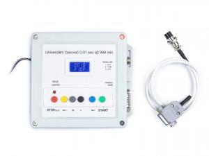 Digitálny časovač s LED displejom 0,0-99,9s pre externé riadenie zariadenia