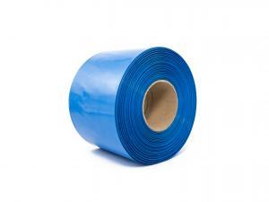Teplom zmrštiteľná PVC fólia - modrá 80mm