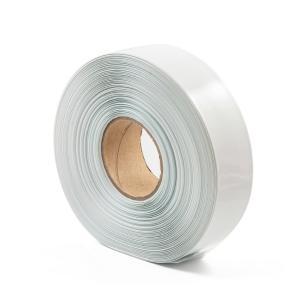 Teplom zmrštiteľná PVC fólia - biela 35mm