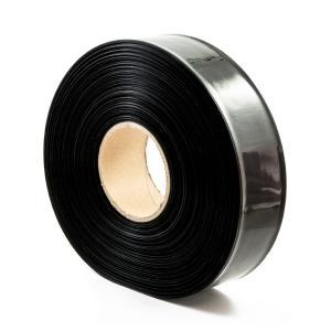 Teplom zmrštiteľná PVC fólia - čierna 35mm
