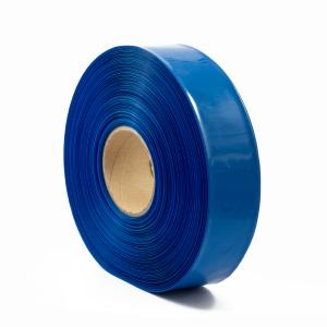 Teplom zmrštiteľná PVC fólia - modrá 35mm