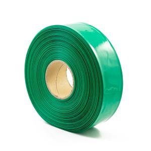 Teplom zmrštiteľná PVC fólia - zelená 40mm