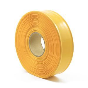 Teplom zmrštiteľná PVC fólia - žltá 35mm