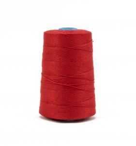 Priemyselná červená polyesterová (PES) šijacia niť pre vrecovačky 800m
