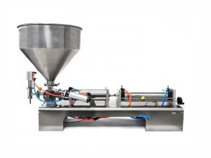 Piestová plnička kvapalín, gélov a olejov 300-2500ml