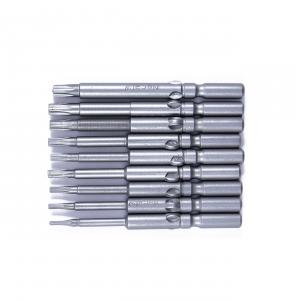 Set 9ks bitov HIOS H5 (∅5) Torx bitov T5-T25 - 60mm
