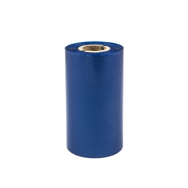 TTR vosková páska, 110mm modrá, 300m