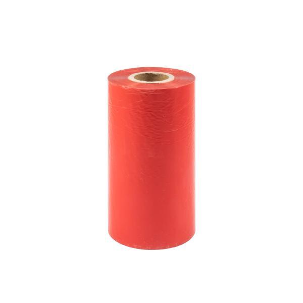 TTR vosková páska, 110mm červená, 300m