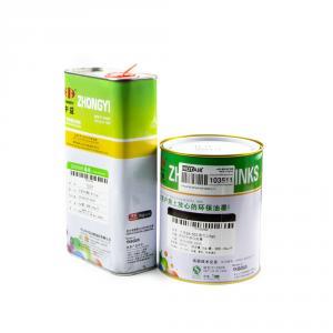 Čierna solventná farba s riedidlom pre tampónovú tlač 1L + 1L
