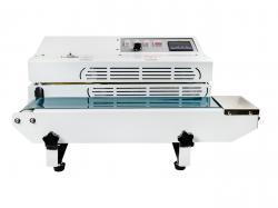 Malá kontinuálna zváračka fólií s dopravným pásom FR-600A