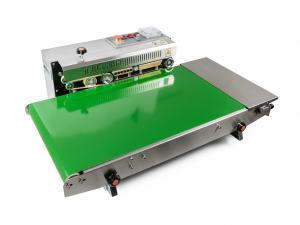 Výrobek: Priebežná nerezová zváračka fólií s dopravníkom a horúcou tlačou DBF-770WL-385