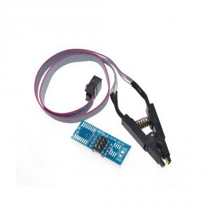 ISP kábel s klipom SOIC / SOP8 pre programátorov IC