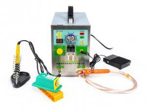 Bodová zváračka kontaktov batérií a aku packov Sunkko 709AD + s mikrospájkou
