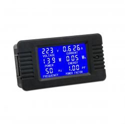 Multifunkčné vstavané meradlo elektrických veličín do AC 80 ~ 260V / 10A