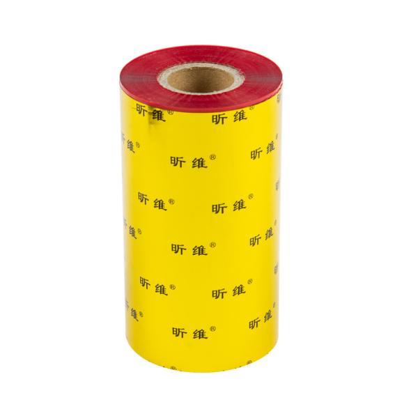 TTR živicová páska, 110mm červená, 300m