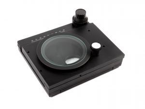 Otočný suport / stolík s posuvom pre mikroskopy