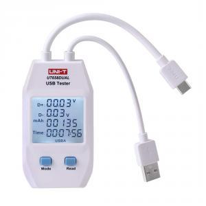 UNI-T UT-658D USB Tester s meraním kapacity s USB-C a USB-A