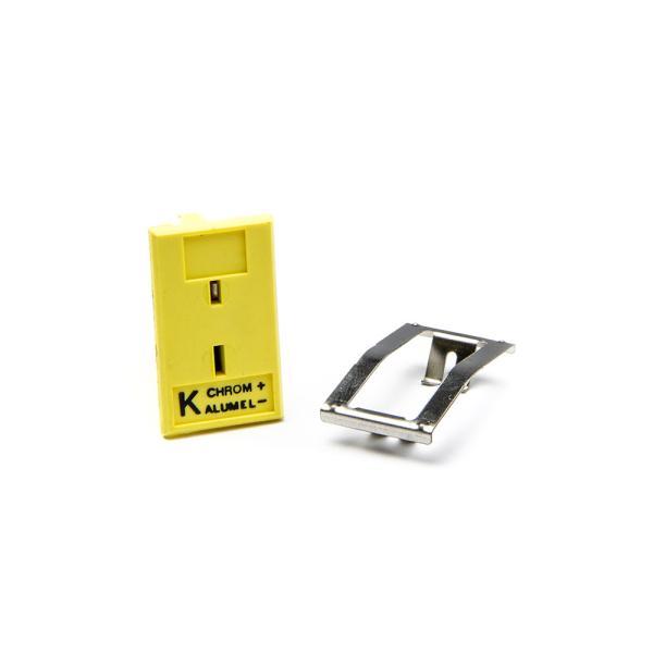 Panelový konektor MPJ-K-F pre termočlánkové sondy typ K