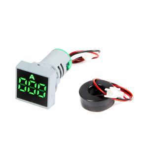Digitálny ampérmeter AC 0-100 pre vstavanie 22mm štvorcový
