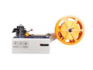 Výrobek: Automatická rezačka / delička popruhov, textilných pások, suchých zipsov a lán 988T