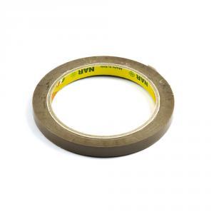 Výrobek: Lepiaca páska pre zatváranie sáčkov, šírka 9 mm, hnedá